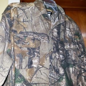 Men's Real Tree camouflage flannel shirt